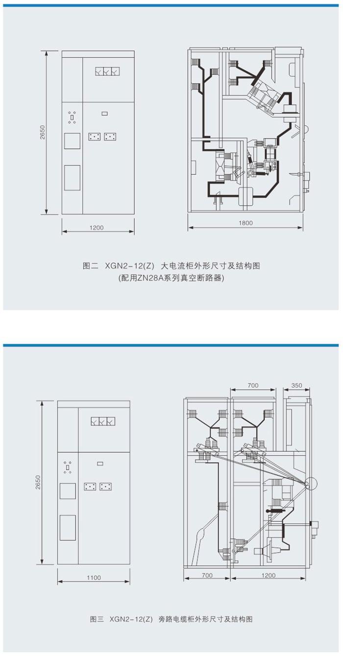 XGN2-12(Z)箱型固定式交流金属封闭开关设备