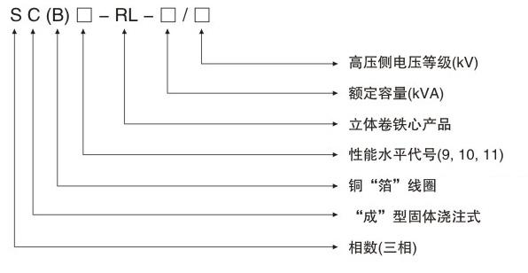 SCB10-RL树脂绝缘立体三角形卷铁芯干式yabo29